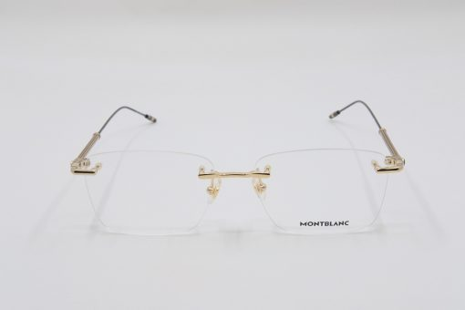 Gọng kính Montblanc Rimless Gold Eyeglasses 00380