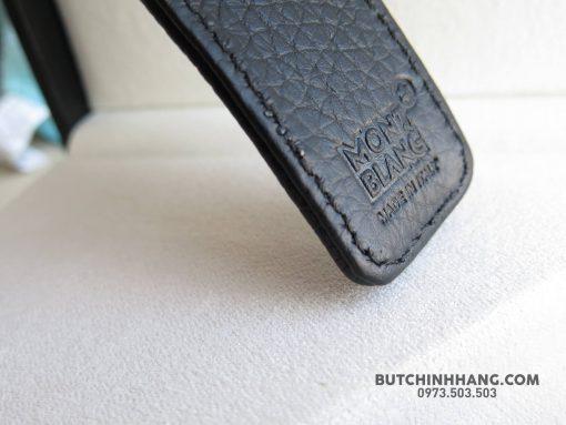 Bộ set bút Montblanc Meisterstuck Classique platinum-coated BallPoint Pen – Bao Da 112513