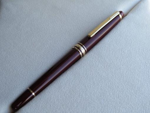 Bút Montblanc Meisterstuck Classique Burgundy Rollerball Pen - IMG 3384 510x383