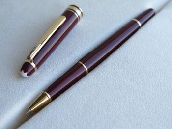 Bút Montblanc Meisterstuck Classique Burgundy Rollerball Pen - IMG 3405 350x263