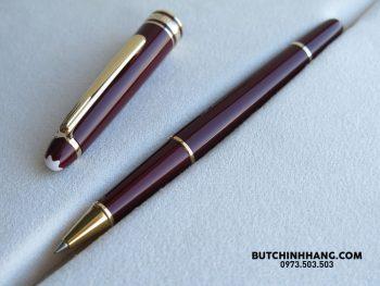 Bút Montblanc Meisterstuck Classique Burgundy Rollerball Pen