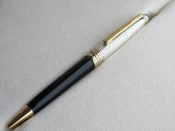 Bút Montblanc Meisterstuck Solitaire Doue Vermeil BallPoint Pen - IMG 4107 350x263