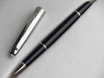 Bút Montblanc Meisterstuck Solitaire Doue Stainless Steel Rollerball Pen - IMG 4907 350x263
