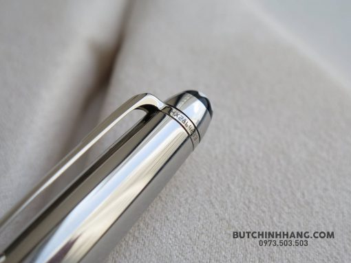 Bút Montblanc Meisterstuck Solitaire Stainless Steel Fountain Pen - 25352042 1683522835026807 5334537980355555454 o 510x383