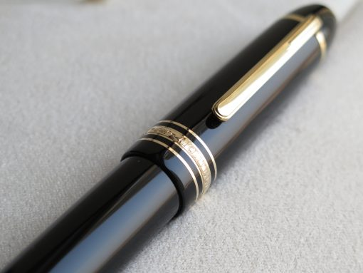 Bút Montblanc Meisterstuck 149 Gold Plated Fountain Pen - IMG 1426 510x383