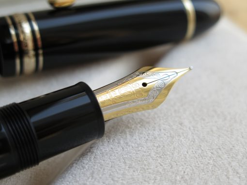 Bút Montblanc Meisterstuck 149 Gold Plated Fountain Pen - IMG 1453 510x383