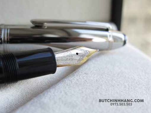 Bút Montblanc Meisterstuck Soliatire Doue Stainless Steel Legrand Fountain Pen - 36605074 1935010539878034 8464774692329226240 o 510x383