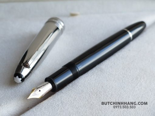 Bút Montblanc Meisterstuck Soliatire Doue Stainless Steel Legrand Fountain Pen - 36661685 1935010266544728 7478244133484625920 o 510x383