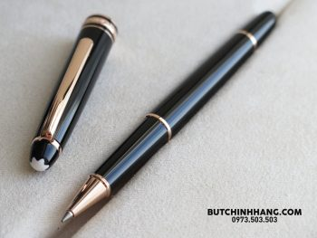 Bút Montblanc Meisterstuck Classique Red Gold Plate Rollerball Pen - 36808308 1941210295924725 1165639177648209920 o 350x263