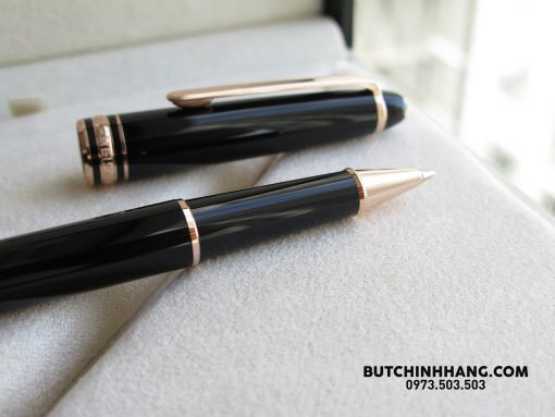 Bút Montblanc Meisterstuck Classique Red Gold Plate Rollerball Pen - 36854824 1944825592229862 3590127948289540096 o 510x383
