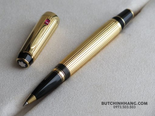 Montblanc Boheme Rouge Gold Plated Rollerball Pen - 39257578 10155685361483715 433901334526164992 o 510x383