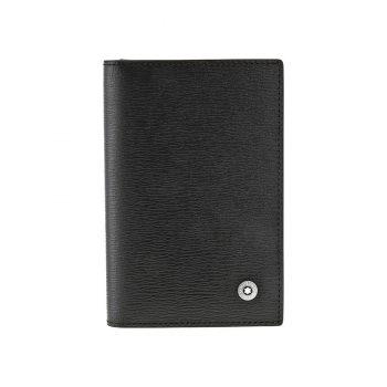 Ví Leather Goods 4810 Westside Business Card Holder - Montblanc Westside Black Leather Business Card Holder 38034 350x350