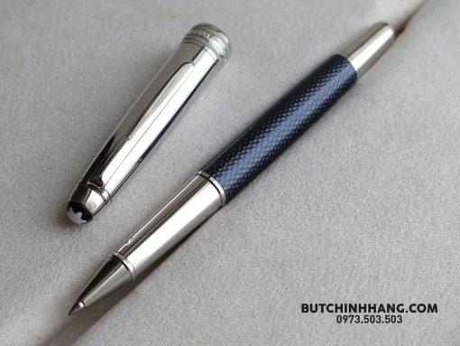 Montblanc Meisterstuck Solitaire Doué Blue Hour Rollerball Pen 112894
