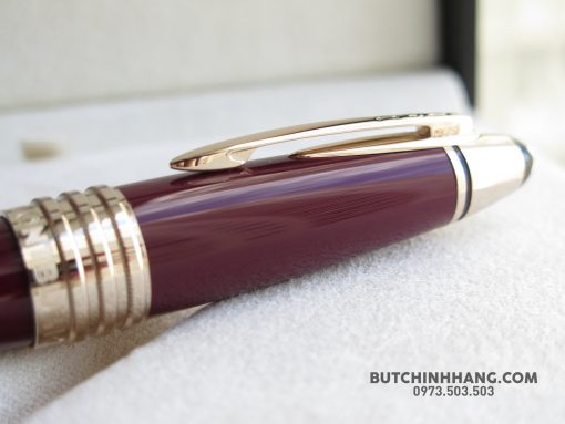 48405805 10155952720768715 5007384606698110976 o 510x383 - Bút Montblanc John F. Kennedy Special Edition Burgundy Ballpoint Pen