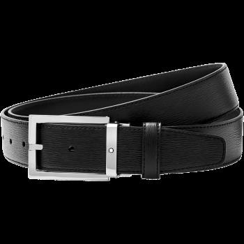 Thắt lưng Montblanc Black Cut-To-Size Business Belt 114435 - 114435 350x350