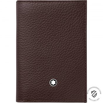 Ví da Montblanc Meisterstück Soft Grain Business Card Holder with gusset 114474 - 114474 1 350x350