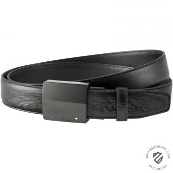 Thắt lưng Montblanc Black Cut-to-size Business Belt 116705 - 116705 2 350x350