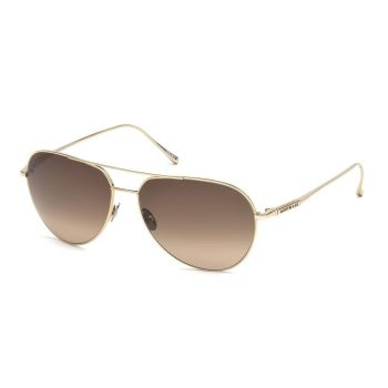 Mắt Kính Montblanc Brown Gradient Aviator Sunglasses F61 - Paris Gallery CS MB657S32F61135624494 350x350