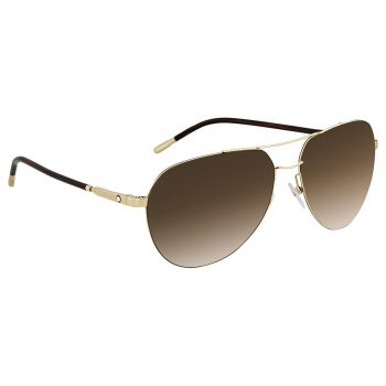 Mắt kính Montblanc Brown Gradient Aviator Sunglasses F60 - montblanc mb695s 32f 60 sunglasses 4 350x350
