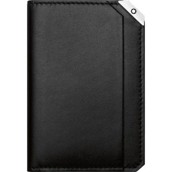 Ví da Montblanc Urban Spirit Black Buisness Card Holder- Black 114675 - porta cartoes de visita montblanc urban spirit 157457620 114675 350x350