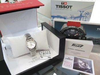 IMG 3805 350x263 - Đồng hồ nữ Tissot Trend T-Wave Mother of Pearl Dial Diamond Ladies Watch T023.210.11.116.00