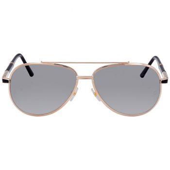 montblanc shiny rose gold aviator sunglasses mb526s 33d 62 2 350x350 - Mắt kính Montblanc Shiny Rose Gold Aviator Sunglasses D62