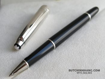 59867187 10156225162368715 7576144283749580800 o 350x263 - Bút Montblanc Meisterstuck Solitaire Doue Silver Barley Rollerball Pen 105222