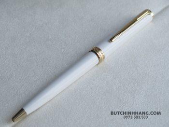 Bút Montblanc Pix White Ballpoint Pen - 60288339 10156248849618715 6825559509952364544 o 350x263