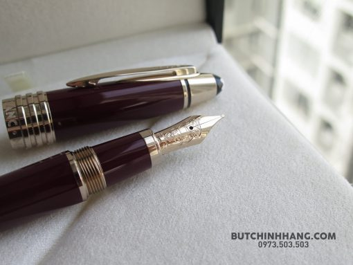 61140031 10156280424988715 1125363340873302016 o 510x383 - Montblanc John F. Kennedy Special Edition Burgundy Fountain Pen