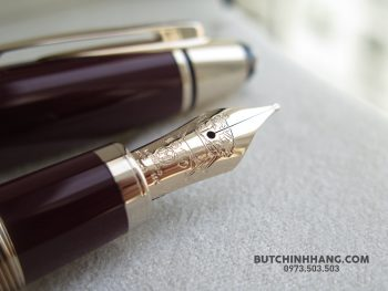 Montblanc John F. Kennedy Special Edition Burgundy Fountain Pen