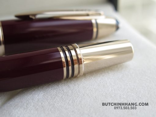 Montblanc John F. Kennedy Special Edition Burgundy Rollerball Pen