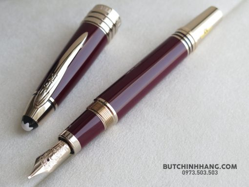 61645035 10156280424903715 8423003678654332928 o 510x383 - Montblanc John F. Kennedy Special Edition Burgundy Fountain Pen