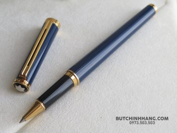 65052378 10156344746268715 2806092491722326016 o 350x263 - Bút Montblanc Noblesse Oblige Blue Plate Rollerball Pen
