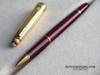 65126762 10156340274078715 1220570314715430912 o 350x263 - Bút Montblanc Meisterstuck Solitaire Doue Vermeil Burgundy Rollerball Pen