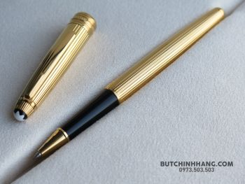 Bút Montblanc Solitaire Gold Plated Vermeil Rollerball Pen