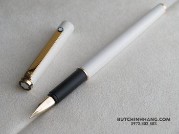 67311137 2539363342776081 3862647952547774464 o 350x263 - Bút Montblanc Noblesse White  Gold Plate Fountain Pen