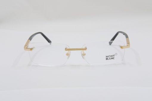 Gọng kính Montblanc Rimless Gold Eyeglasses MB545