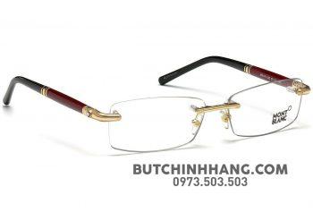 s l1600 5 350x237 - Gọng kính Montblanc Endura & Gold Frame Men's Eyeglasses MB474