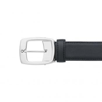 Thắt lưng Montblanc Contemporary Black Leather Belt 9695