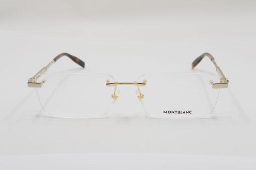 Gọng kính Montblanc Rimless Gold Eyeglasses 00300
