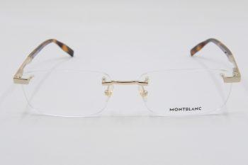 Gọng kính Montblanc Rimless Gold Eyeglasses 00230