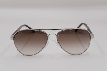 Kính mát Montblanc Aviator Sunglasses MB645S 16F Palladium/Brown Horn 59mm 645