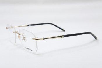 Gọng kính Montblanc Rimless Gold Eyeglasses MB0071O