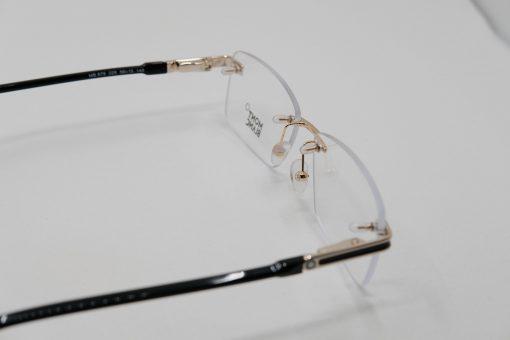 Gọng kính Montblanc Rimless Gold Plate Eyeglasses 0692
