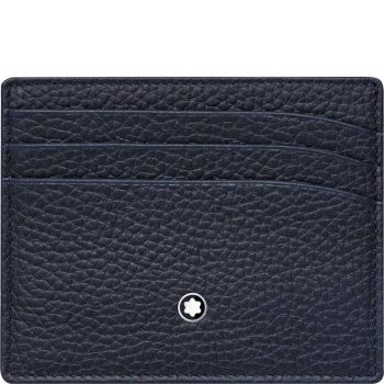 Ví đựng thẻ Montblanc Meisterstuck Soft Grain Pocket Holder 6 Credit Card 116743