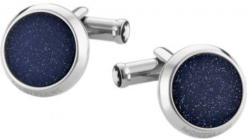 Khuy măng sét Montblanc Stainless Steel Cuff Links 112906