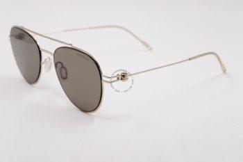 Kính mát Montblanc Brown Aviator Unisex Sunglasses MB0001S