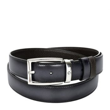 Thắt lưng Montblanc Men's Reversible Business Leather Belt 123900