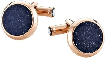 Khuy măng sét Montblanc Stainless Steel Cuff Links 112908