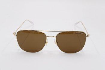 Kính mát Montblanc Established Gold – Brown Sunglasses MB0096S